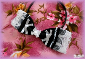 Albica-atra Headbow Kuroi (Collection)