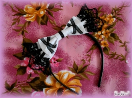 Albica-atra Headbow Shiroi (Collection)