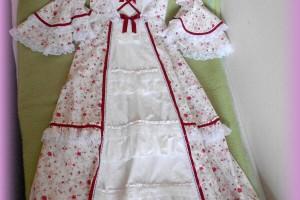 Biele kvetinové aristo šaty (Special)