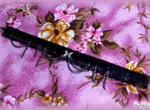 Black Butterfly Choker IV