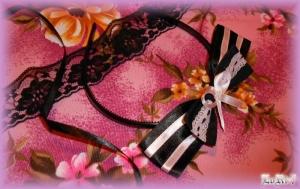 Black & Pink Headband