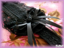 Black Rose Headdress (Collection)