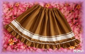 Brown Lolita Skirt (Special)