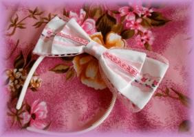 Pink Romancia Headband