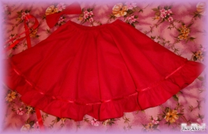 Ruby Red Skirt (Special)