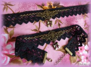 Steam Bat Kurai Choker