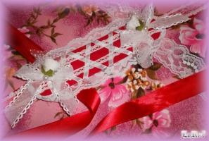 Strawberry Snow Headdress