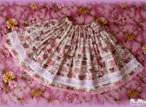 Tea-time Pink Skirt