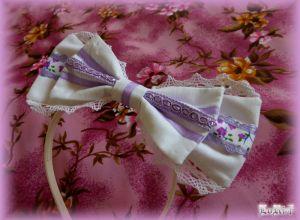 Violet Romancia headband