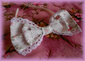 White Flower Headband I