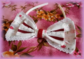 White Flower Headband II