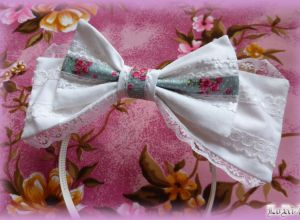 White Romantica Headband